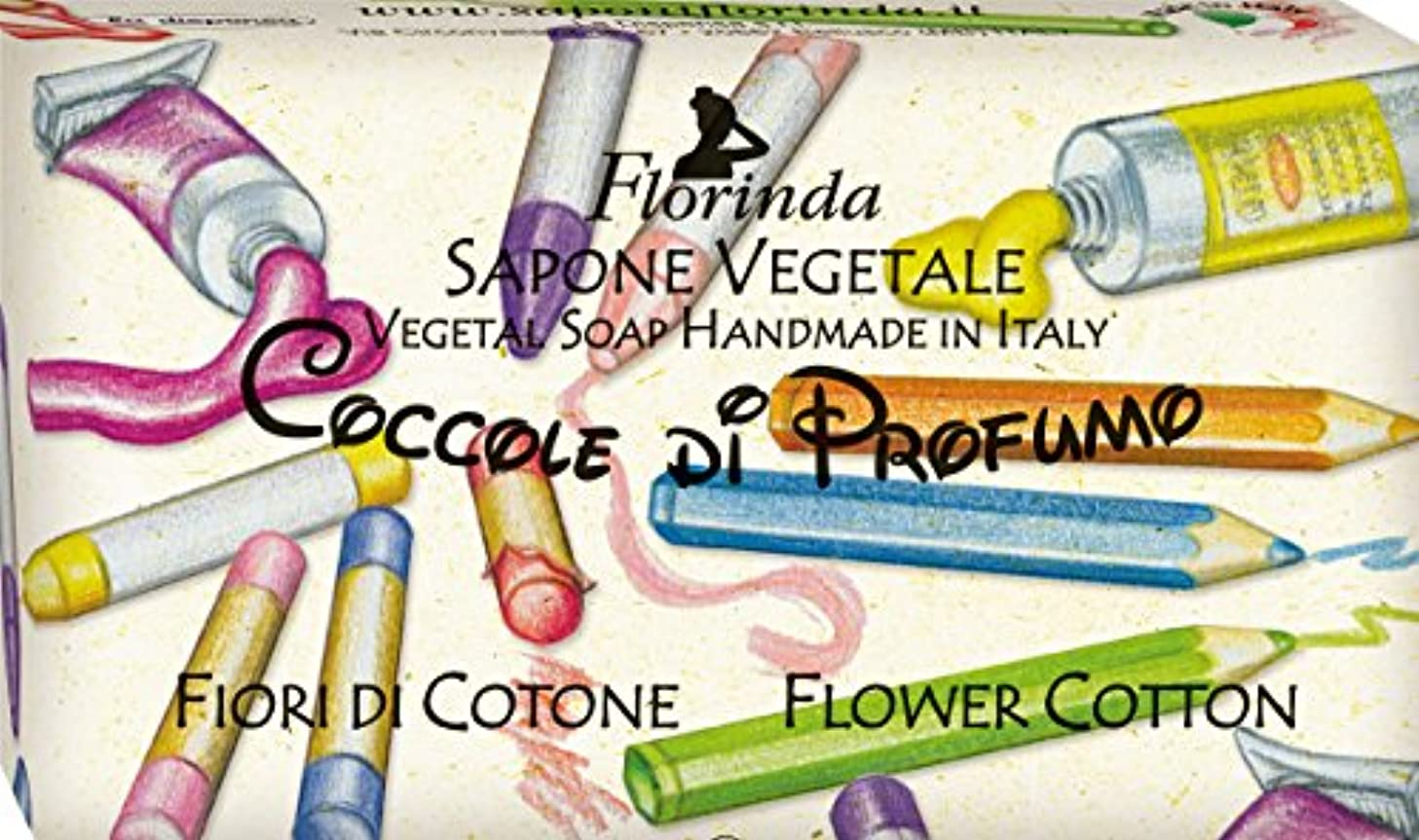 新鮮なスリット偽造フロリンダ フレグランスソープ おもちゃシリーズ フラワーコットン