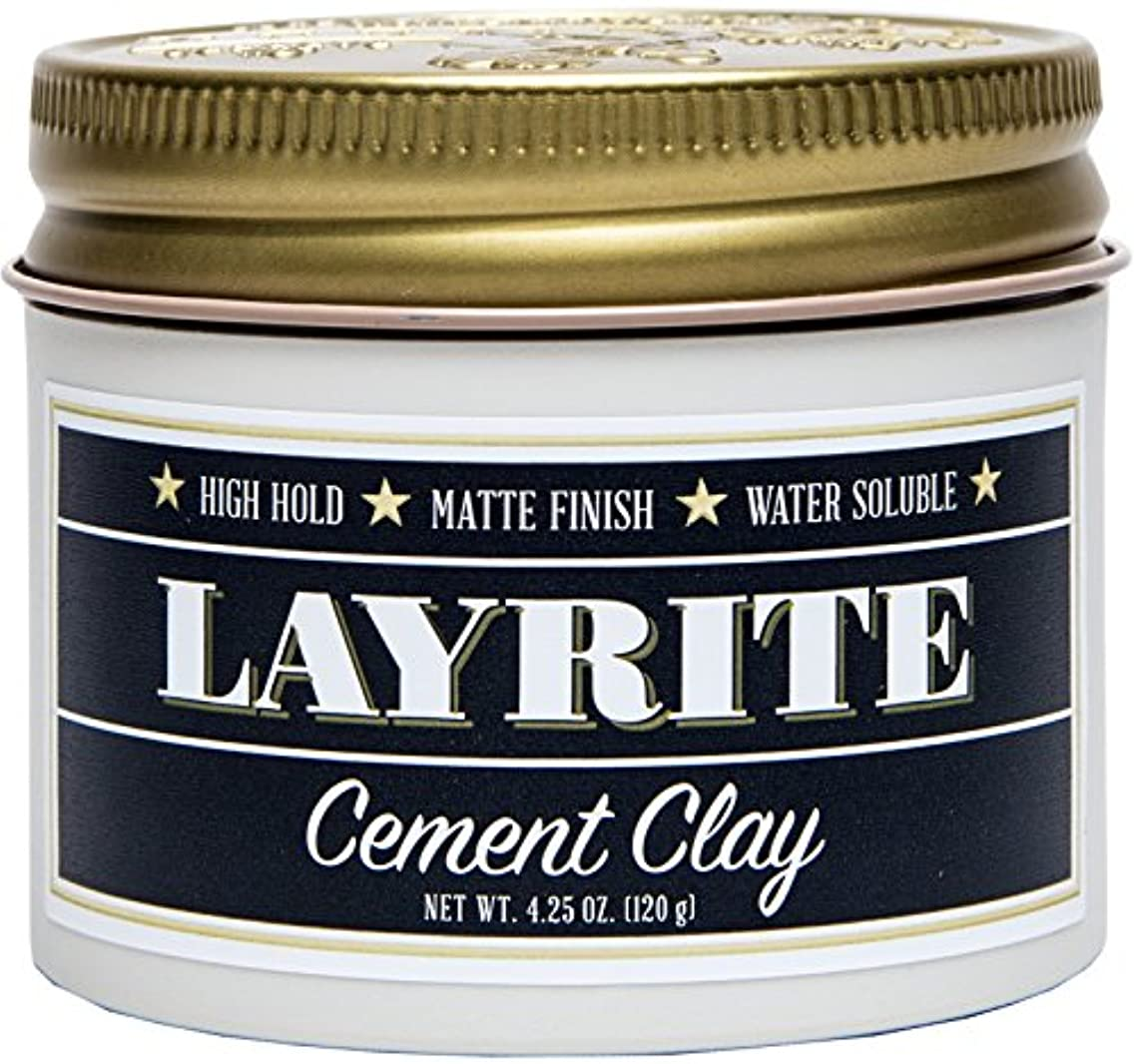 進化するラグクレタLayrite Cement Clay (High Hold, Matte Finish, Water Soluble) 120g/4.25oz並行輸入品