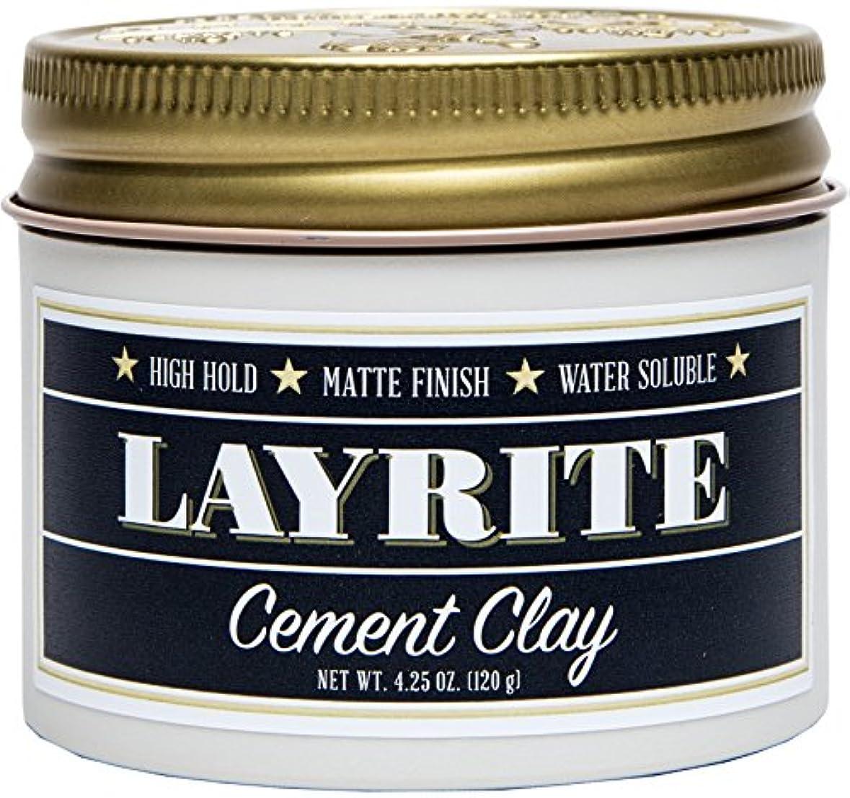 レジ静けさブレンドLayrite Cement Clay (High Hold, Matte Finish, Water Soluble) 120g/4.25oz並行輸入品
