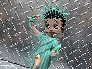 FANKO社製の首振り人形【 ボブルヘッド人形 】(Betty Boop)ベティ 自由の女神 首振り人形 フィギア アメリカン雑貨 アメリカ雑貨 ベティちゃん