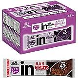 【Amazon.co.jp限定】inバー プロテイン ベイクドビター (14本入×1箱) 甘さ控えめ しっとり焼きチョコバータイプ 高タンパク10g 糖質40%オフ