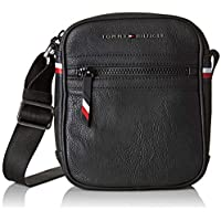 Tommy Hilfiger Men's Essential Mini Crossover Bag Essential Mini Crossover Bag, Black, One Size