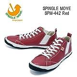 (スピングルムーヴ)SPINGLEMOVE spm442-10 スニーカー SPINGLE MOVE SPM-442/ Red L26.5cm Red