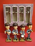 ビートルズ フィギュアセット ALL ORIGINAL THE BEATLES BOBBIN HEAD SET CAR MASCOTS INC 1964 JAPAN MINT + BOX [並行輸入品]