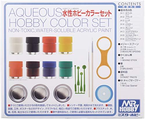 水性ホビーカラーセット HS30 【HTRC 3】
