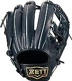 ゼット(ZETT) 硬式野球 プロステイタス グラブ (グローブ) セカンド・ショート用 ナイトブラック(1900N) 右投げ用 日本製 BPROG540