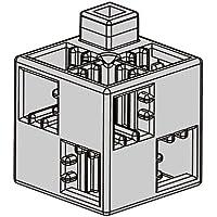アーテック (Artec) アーテックブロック ブロック単品 基本四角 薄グレー 24ピース 077751