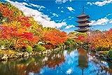 ジグソーパズル 紅葉めぐり(京都東寺) 1000ピース (50x75cm)