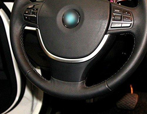 BMW 5シリーズ F10 GT F07 520 525 530 11-15 ABS ステアリングホイールボトムUシェイプトリムカバー