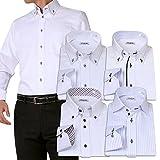 (アトリエサンロクゴ) atelier365 ワイシャツ 選べる6種類 5枚セット長袖 /at101-LL-43-84-AT101-Gset