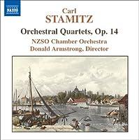 C.シュターミッツ:管弦楽のための四重奏曲集