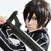 耐熱 ソードアート・オンライン(Sword Art Online)  『キリト/ 桐ヶ谷和人(きりがや かずと) 』 cos wig コスチューム コスプレウィッグ