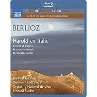 ベルリオーズ:イタリアのハロルド/序曲「ローマの謝肉祭」Op.9 H95/序曲「ベンヴェヌート・チェッリーニ」Op.23[Blu-ray Audio]
