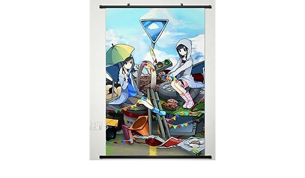 Amazon Co Jp ウォールスクロールポスターファブリックペイントアニメkagerou Project雨宮天日比谷 朝比奈ひより104 22x33 Inches ホーム キッチン