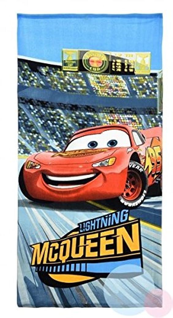 間違いなく迷路路面電車0957 ディズニー カーズ Disney Cars ビーチタオル バスタオル 吸水性抜群 70cm×140cm [並行輸入品]