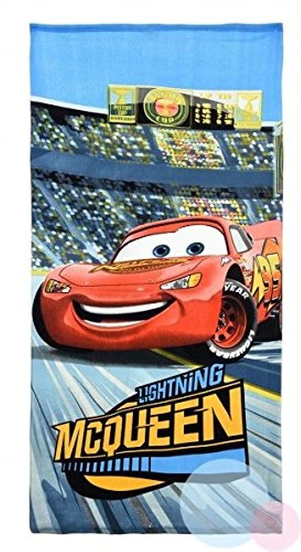 否認するデッキスパーク0957 ディズニー カーズ Disney Cars ビーチタオル バスタオル 吸水性抜群 70cm×140cm [並行輸入品]