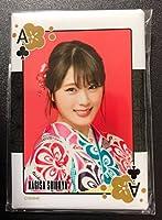 NMB48 渋谷凪咲 2018 福袋 トランプ柄スクエア缶バッジ