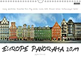 Europe Panorama 2019 / UK-Version 2019: European Cities from an unusual perspective. These unique panoramas are created from photos taken along whole street fronts in attractive european cities. Be amazed by cities like London, Amsterdam, Paris, Madrid... (Calvendo Places)