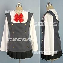 コスプレ衣装  スクールデイズ  榊野学園女子制服 西園寺風 コスチューム---男性LLサイズ