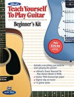 Alfreds Teach Yourself to Play Guitar: Everything You Need to Know to Start Playing the Guitar Starter Pack