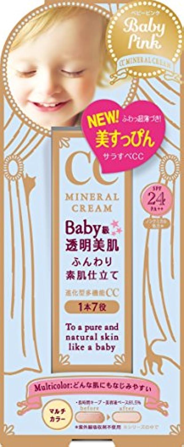 背景高度な区別ベビーピンク CCクリーム 20G