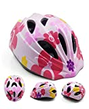 UnaFreely 子供用 軽量 ヘルメット 自転車 スケート びっくり 軽い ヘルメット 幼児 キッズ 2-6 歳