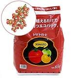 (観葉) エコバッグで育てる 簡単トマト栽培セット(トゥインクルミニトマト) 家庭菜園 [生体]