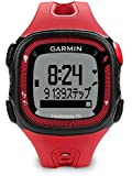 GARMIN(ガーミン) ランニングGPS ForeAthlete 15J レッド/ブラック 【日本正規品】 124105