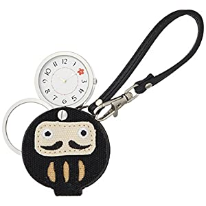 [フィールドワーク]Fieldwork 懐中時計 ダルマ ルーペ 付き ブラック LW042-3 懐中時計