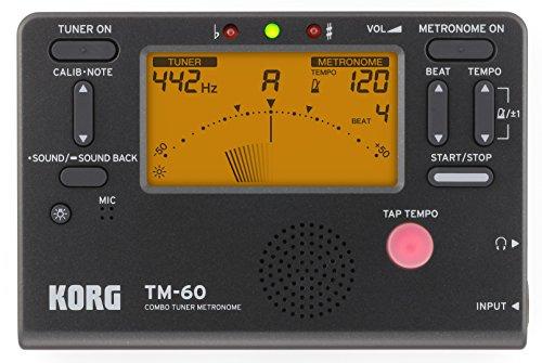 KORG チューナー/メトロノーム TM-60 BK
