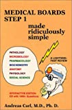Cover of Medical Boards Step 1: Made Ridiculously Simple