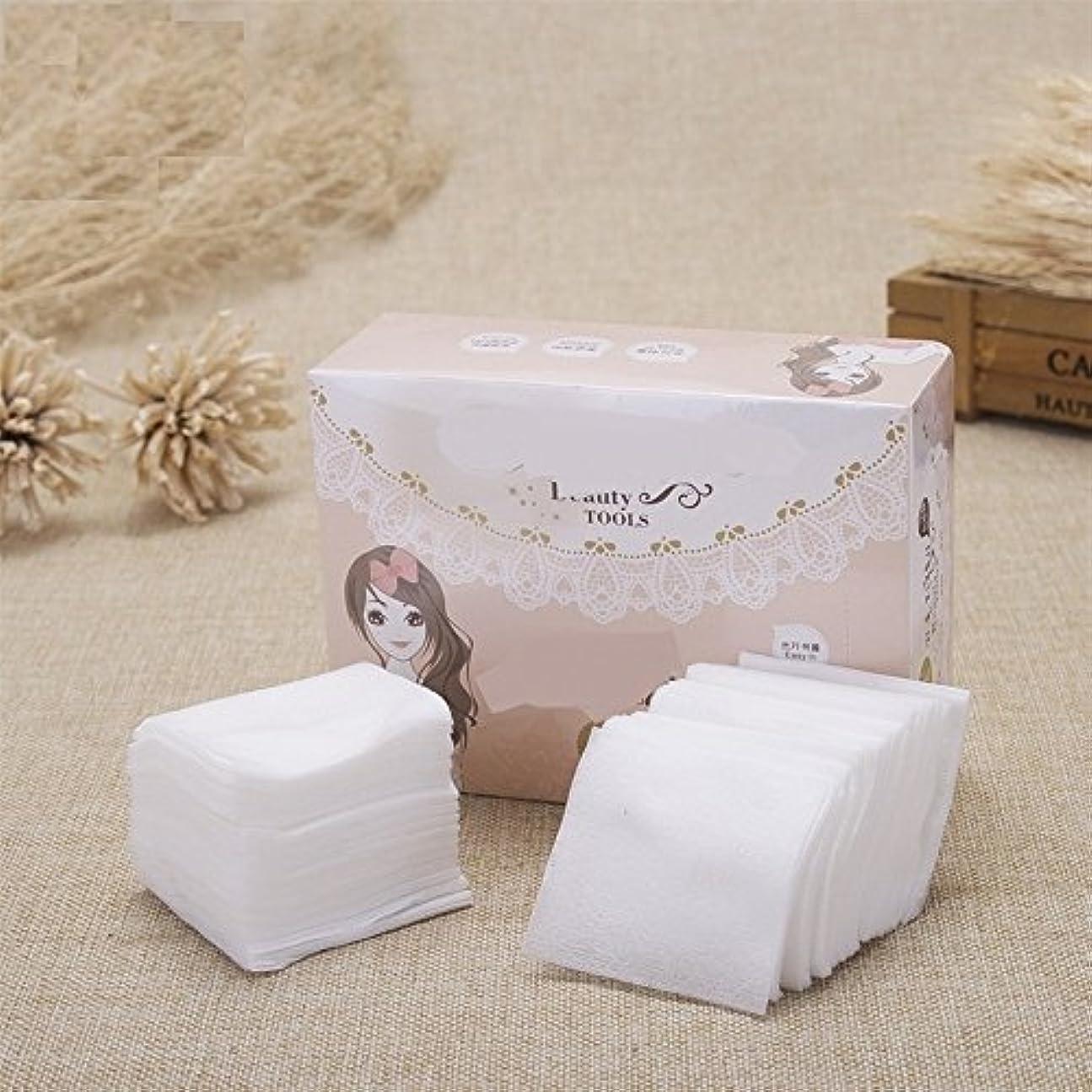 レーザ本物の発揮するAorunji 柔らかい 超薄メイクアップコットンソフト化粧品コットンパッドリントフリーフェイシャルメイクリムーバークリーニングコットン(Appr.300pcs)