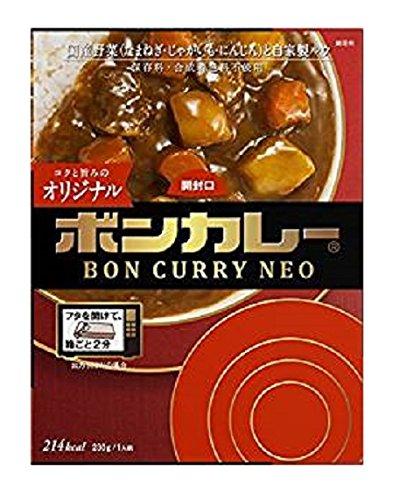 大塚食品 ボンカレーネオ コクと旨みのオリジナル 230g