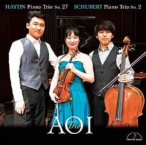 シューベルト:ピアノ三重奏曲第2番 ハイドン:ピアノ三重奏曲第27番