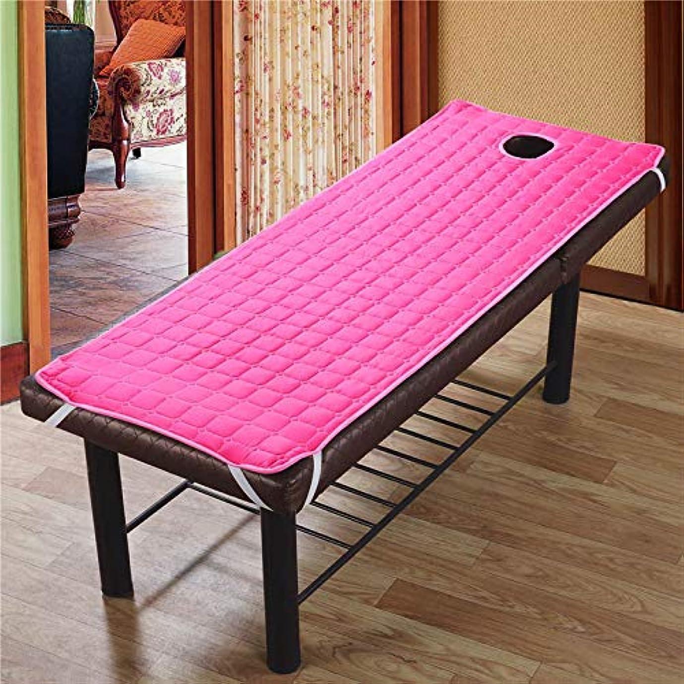ストライプシャトルランデブーAylincool 美容院のマッサージ療法のベッドのための滑り止めのSoliod色の長方形のマットレス