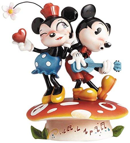 ディズニー ミス・ミンディ シリーズ ミッキーマウス&ミニーマウス スタチュー