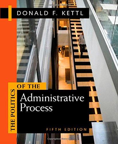 Download Politics of the Administrative Process 1608716880