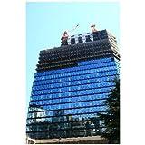 東京高層ビル建設現場のポストカード絵葉書はがきハガキ葉書postcard