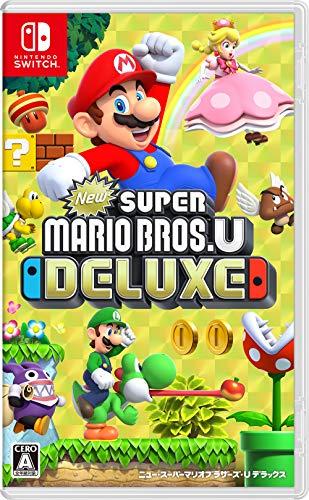 New スーパーマリオブラザーズ U デラックス -Switch 【Amazon.co.jp限定】オリジナルA4コットンバッグ 付