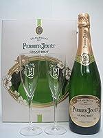 [ギフト] ペリエジュエ グラン ブリュット 専用グラス2個付き 正規品 750ml