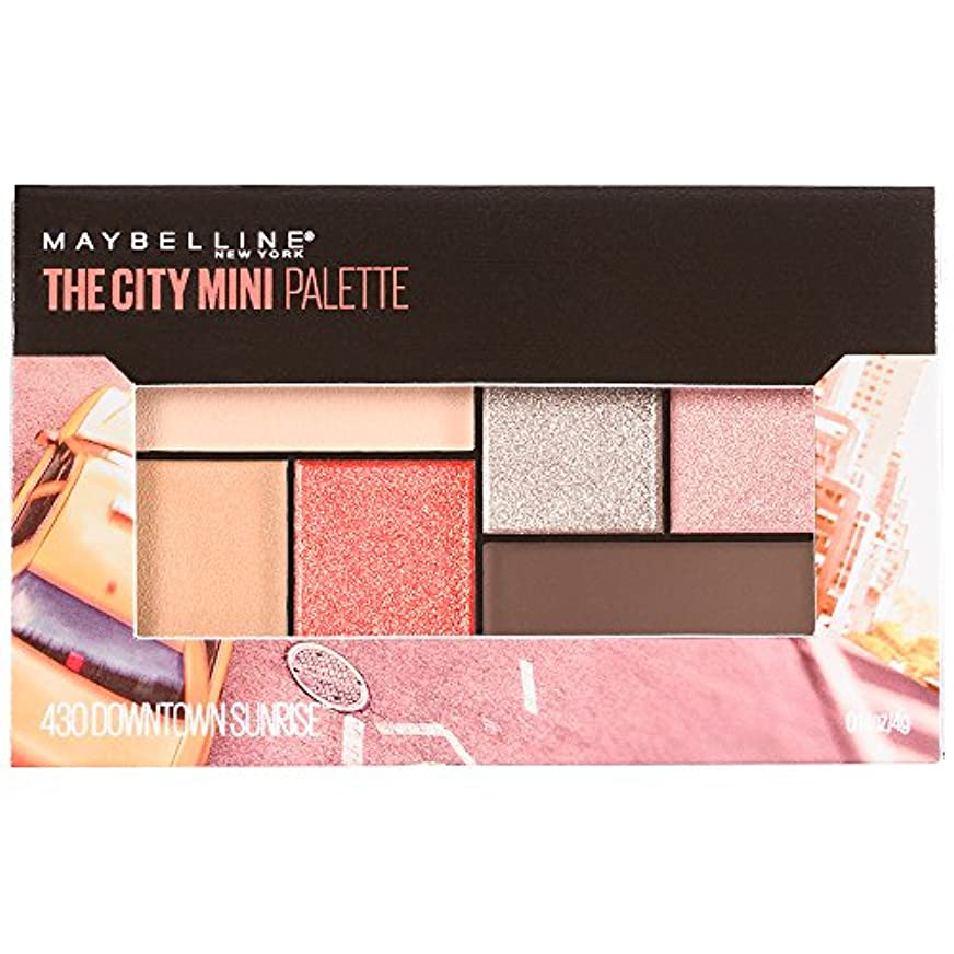 結婚した離れて商業のMAYBELLINE The City Mini Palette - Downtown Sunrise (並行輸入品)