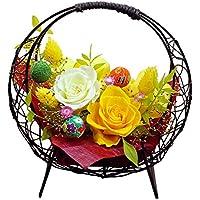 プリザーブドフラワー 花つづり(ひまわり色) 母の日 ギフト 結婚祝い 誕生日 還暦祝い 送別 退職祝い