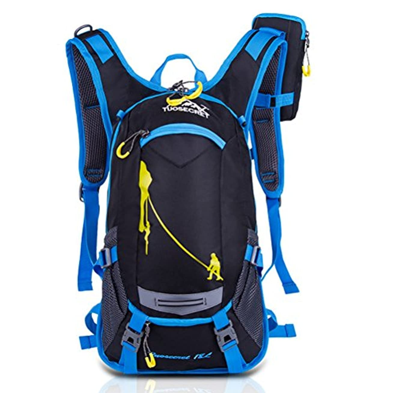 尋ねる精査する忌み嫌う自転車バッグ サイクリング バッグ 多機能サイクリングリュック 超軽量 防水 反射材付き ランリングバッグ