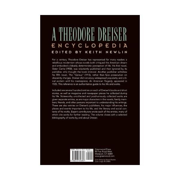 A Theodore Dreiser Ency...の紹介画像2