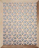 "Stellar Air 磁気 装飾用 通気口カバー - キューブ 20"" x 20"" - Flush"