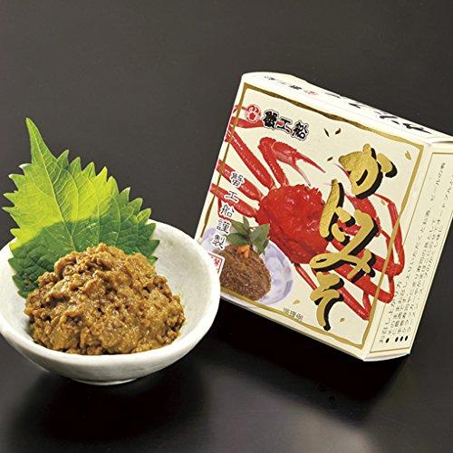 かに問屋 札幌蟹販 カニミソ缶 【常温品】