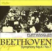 ベートーヴェン:交響曲第4番/交響曲第7番