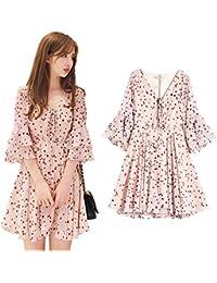 c9d5ca5922a62 Amazon.co.jp  ピンク - ワンピース・チュニック   ワンピース・ドレス ...