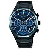 [セイコーウォッチ] 腕時計 ワイアード REFLECTION ソーラークロノモデル AGAD416 メンズ ブラック