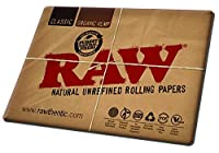 RAW Natural Rolling Papers - Counter Change Mat Large - Desk Mouse Pad by Raw
